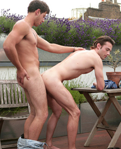 Englishlads.com: Straight Hunk Doug fucks his First Guy  & Justin gets it Good & Rough from Doug's Massive Uncut Tool!