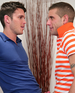 Englishlads.com: Straight Hunk Jay Hall fucks his First Guy - Lucky Dan Gets it Hard & Fast