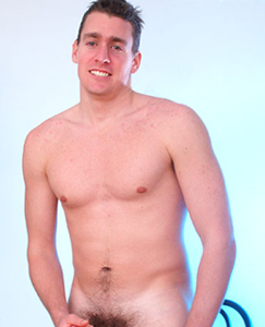 Englishlads.com: Straight hunk Tod strips out of his tight rugby shorts and works his thick cock