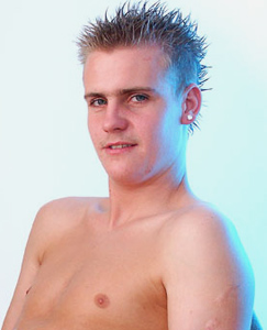 Englishlads.com: Straight lad Daniel whips out his nice cock and shoots a nice load on himself