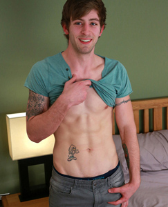 Englishlads.com: Straight Young MMA Expert Chester Shows off his Lean Body & Massive 9 Inch Uncut Erect Cock!