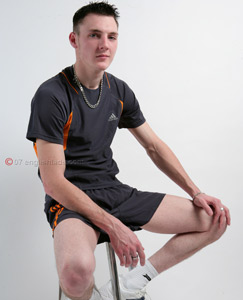Twink footie sports kit sex