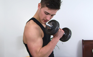 Joel Shaw Young & Straight Personal Trainer Joel - Work Out Your Uncut One This Frequently & You to can be This Hard!