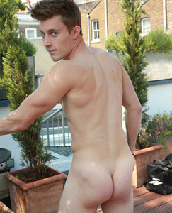 Englishlads.com: Young Tall Blond Lad Cameron - Straight Pup with A Large Uncut Rocket Cock!