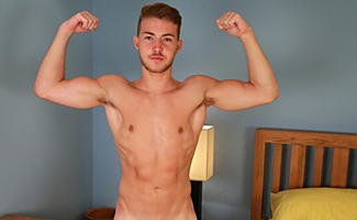 Bonus Video of Photo Shoot - Young George Shows his Ripped Body and Shoots a Mile!