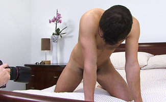 BONUS VIDEO of the Photo Shoot - Watch Straight Hunk Phil's 1st Dildo Experience!