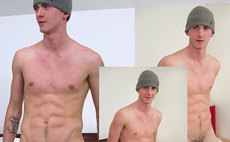 BONUS VIDEO - Hunky PT Reece - The video of his First Photo Shoot