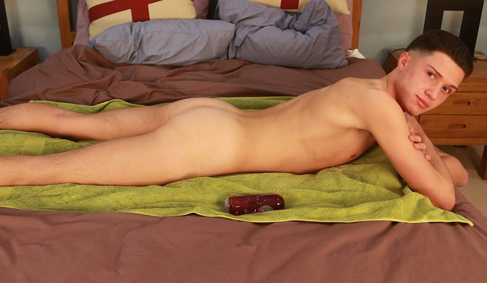 Confident Young Teenager Marco Enjoys this new Shoot More than Any Before!